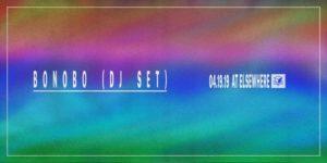 Bonobo (DJ Set) @ Elsewhere 21+ @ Elsewhere  599 Johnson Avenue  Brooklyn, NY 11237  United States |  |  |