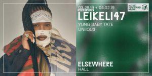 Leikeli47 @ Elsewhere (Hall) PopGun + Move Forward Present 16+ @ Elsewhere (Hall) 599 Johnson Avenue Brooklyn, NY 11237 United States | | |