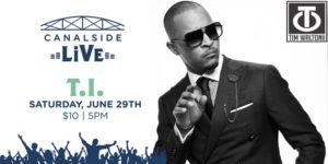Canalside Live Series: T.I. by Canalside @ Canalside Hanover Street Buffalo, NY 14202 United States | | |