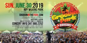 GROOVIN' IN THE PARK CONCERT 2019 by C. ROBERTS @ Roy Wilkins Park Merrick Boulevard Queens, NY 11434 United States | | |