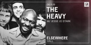 The Heavy @ Elsewhere (Hall) PopGun Presents 16+ @ Elsewhere (Hall) 599 Johnson Avenue Brooklyn, NY 11237 United States | | |