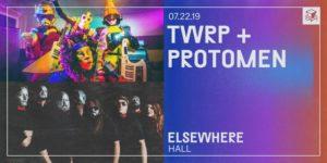 TWRP + Protomen @ Elsewhere (Hall) PopGun Presents 16+ @ Elsewhere (Hall) 599 Johnson Avenue Brooklyn, NY 11237 United States | | |