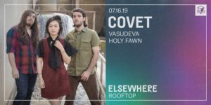 Covet @ Elsewhere (Rooftop) PopGun Presents 16+ @ Elsewhere (Rooftop)  599 Johnson Avenue  Brooklyn, NY 11237  United States |  |  |