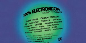 100% ElectroniCON (Elsewhere Takeover!) w/ George Clanton, Saint Pepsi and... PopGun Presents 16+ @ Elsewhere 599 Johnson Avenue Brooklyn, NY 11237 United States | | |