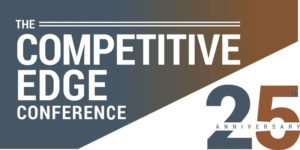 THE COMPETITIVE EDGE CONFERENCE - 25TH ANNIVERSARY CELEBRATION @ Pier Sixty Chelsea Piers New York, NY 10011 United States | | |