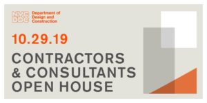 Contractors & Consultants Open House by NYC Department of Design and Construction @ NYC Department of Design and Construction 30-30 Thomson Ave (entrance on 30th Place) North Atrium Long Island City, NY 11101 United States      