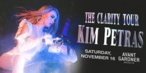 Kim Petras - The Clarity Tour Presented by Live Nation & Avant Gardner 16+ @ Great Hall - Avant Garder 140 Stewart Ave Brooklyn, NY 11237 United States | | |