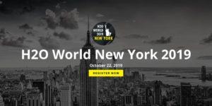 H2O World New York 2019 by H2O.ai @ New York Hilton Midtown 1335 6th Avenue New York, NY 10019 United States      