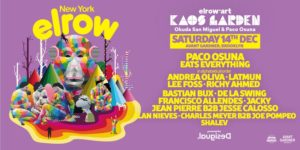 elrow Art goes to New York! 21+ @ Avant Gardner 140 Stewart Ave Brooklyn, NY 11237 United States | | |