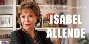 Isabel Allende   A LONG PETAL OF THE SEA by Politics and Prose @ Sixth & I 600 I Street Northwest Washington, DC 20001 United States      