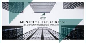 Pitch Contest with Starta Ventures via ZOOM by Starta Ventures @ Starta Ventures Hub  220 east 23rd street  New York, NY 10010  United States |  |  |