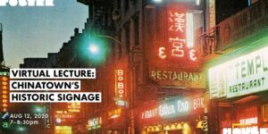 Lecture: Chinatown's Historic Signage by Poster House @ Poster House  119 West 23rd Street  New York, NY 10011  United States |  |  |