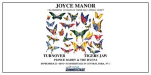 Joyce Manor with Turnover, Tigers Jaw, and Prince Daddy & the Hyena ALL AGES @ Capital One City Parks Foundation SummerStage 5th Avenue at 69th Street New York, NY 10065 United States      