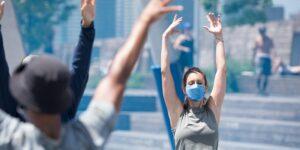 Healthy on the Hudson x lululemon Yoga by Hudson River Park @ Hudson River Park's Pier 64 Pier 64 New York, NY 10013 United States      