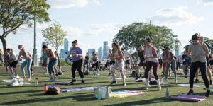 Healthy on the Hudson x lululemon HIIT by Hudson River Park @ Hudson River Park's Pier 46 Pier 46 New York, NY 10013 United States      